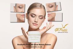 Optimises activity of facial muscles. Strengthens the elasticity of your skin, and smooths away wrinkles. #gernetic #gerneticuk #skincare #bestproduct #antiageing #beautysalon #beautytreatment #madeinfrance #antiwrinkle #explore #tighteningcream Facial Muscles, Face Products, Anti Wrinkle, Anti Aging, Skincare, Explore, Beauty, Skincare Routine