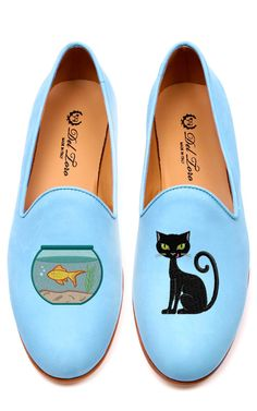 Shop Cat And Fishbowl Loafer by Del Toro for Preorder on Moda Operandi