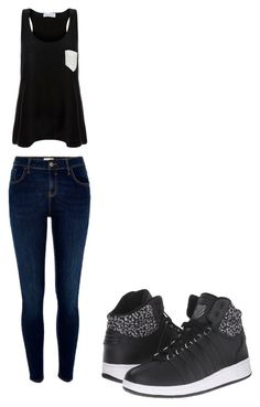 """""""Untitled #43"""" by hailey-michele on Polyvore featuring River Island, Solid & Striped and K-Swiss"""