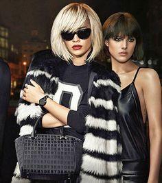 Кара Делевинь, Рита Ора и Алессандра Амбросио в новых рекламных кампаниях 2014-2015-х годов от Chanel, DKNY и Schutz | Мода, модели и одежда | Женский журнал Lady.ru