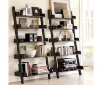 Furniture row bedroom sets ladder entertainment center shelf crate barrel shelves leaning bookshelf home design ideas Leaning Bookshelf, Leaning Shelf, Ladder Bookshelf, Bookshelf Design, Leaning Ladder, Bookshelf Styling, Wall Bookshelves, Bookcases, Ladder Shelf Decor