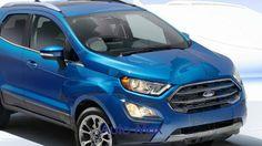2018 Ford Ecosport Blue - Interior & Exterior