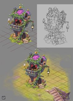 Done for a test for a freelance job .. it's the first time i'm doing something of this kind ..i think i prefer doing concepts instead of assets for a game cause i spent too much time detailing more...
