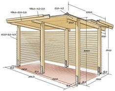 Pergola For Front Of House Product Garden Room, Home, Bike Shed, Patio Design, Pergola Designs, Garden Buildings, Wood Shed, Bike Shelter, Outdoor Kitchen