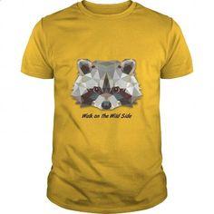 Walk on the Wild Side - Raccoon - #dress shirt #custom hoodie. CHECK PRICE => https://www.sunfrog.com/LifeStyle/Walk-on-the-Wild-Side--Raccoon-Yellow-Guys.html?60505