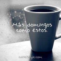 #Coffee #Cafe #Rain #lluvia 'more sundays like these'
