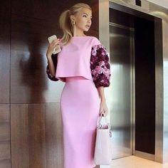 Laksmi Elegant Dresses Womens Dress - Now Outfits Classy Dress, Classy Outfits, Chic Outfits, Dress Outfits, Chic Dress, Hijab Fashion, Fashion Dresses, Fashion Tips, Fashion Design