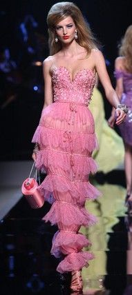 DIOR Couture...why yes, I adhere to a strict office dress code.