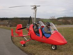 I want to fly in a gyrocopter...