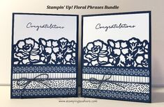 Stampin' Up! Floral Boutique Product Suite! Gorgeous Card with Step by Step Video Tutorial!, Kay Kalthoff, Floral Detailed Thinlits, #stampingtoshare