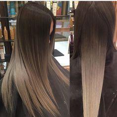 New hair goals blonde highlights ombre ideas Ombre Hair Color, Hair Colors, Ash Blonde Ombre Hair, Hair 2018, Hair Dos, Pretty Hairstyles, Hair Trends, Dyed Hair, Hair Inspiration