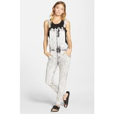Junior Lee Cooper Denim Overalls ($88) ❤ liked on Polyvore featuring jumpsuits, white, acid wash denim overalls, acid wash denim jumpsuit, white denim overalls, skinny jumpsuit and lee cooper