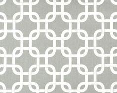 Gotcha Summerland/Grey Natural by Premier Prints - Drapery Fabric - Discount Fabrics Contemporary Drapery Fabric, Modern Fabric, Grey Fabric, Cotton Fabric, Turquoise Fabric, Premier Fabrics, Premier Prints, Geometric Curtains, Geometric Fabric