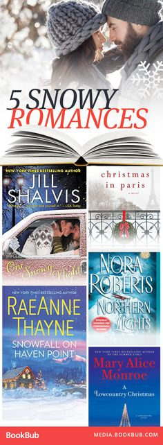 5 romantic books to read over the holidays.