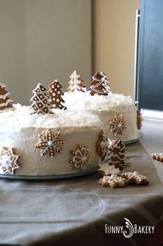 Christmas Cake Decorations, Christmas Food Gifts, Holiday Cakes, Christmas Cooking, Christmas Goodies, Christmas Desserts, Holiday Treats, Christmas Cakes, Piano Cakes