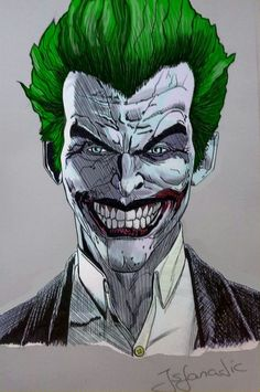 Joker Arkham Origins (Colored) by Jsfanatic on deviantART