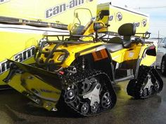 Tracked Can-Am Outlander