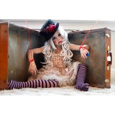 This young lady is killing it on the #halloweencostume front! Check out @candice_gleason_photography