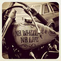 No wheel...No life !!! #Padgram