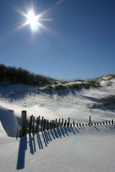 Winter or Summer, Cape Cod beaches are beautiful!