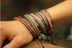 Bracelets by Guanábana handmade
