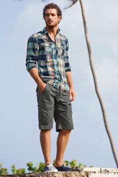 After a relaxing getaway with Calida, Justice Joslin continues to take in the warm days of summer with another style outing. Connecting with British retailer Next, Justice showcases the latest men's styles. Embracing a casual agenda, Justice heads outdoors, where he is pictured in cotton button-downs, polo shirts, and graphic t-shirts. Related: Justice Joslin Models...[ReadMore]