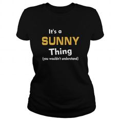 Its a Sunny thing you wouldnt understand