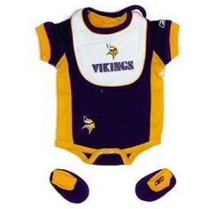 1000 images about Minnesota Vikings Baby Fun on Pinterest