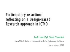 Presented at IDIA 2013, Bangkok, Thailand.