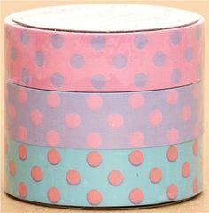 Sticky Tape set with Dots 1