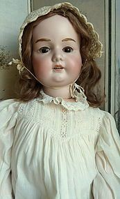 "30"" A M with Original Mohair Wig, Brows and Lashes, Fantastic! - Bunny's Babies #dollshopsunited"