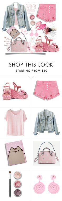 """""""Cute"""" by katiacsilva ❤ liked on Polyvore featuring RED Valentino, Wrap, Gund, Bare Escentuals, Moschino and Vince"""