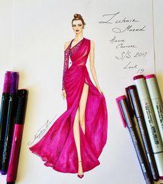 1,072 個讚,9 則留言 - Instagram 上的 NataliaZ.Liu(@nataliazorinliu):「 Stunning Zuhair Murad couture gown ✨✨ (Haute Couture collection Spring Summer 2017)… 」