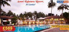 Enjoy a fabulous vacation in the heart of the Pearl of the Orient, Sri Lanka, at the Avani Kalatura Resort. Attractive deals on multiple holiday packages available. Call now for details and bookings! http://www.southalltravel.co.uk/holidays/indian-ocean/sri-lanka/avani-kalutara-resort.aspx