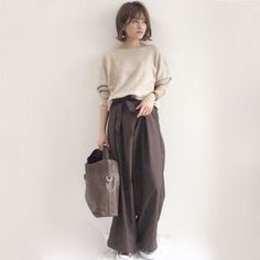 64 Trendy Moda Fashion Woman Trousers in 2020 Japan Fashion, Work Fashion, Hijab Fashion, Fashion Outfits, Womens Fashion, Fashion Fashion, Fashion Couple, Japanese Street Fashion, Korean Fashion