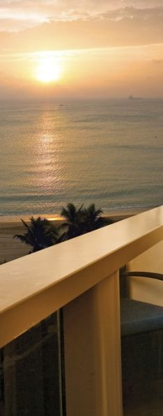Perfect Florida #sunset from your balcony in Palm Beach.