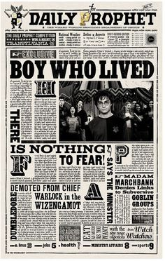 Harry Potter graphic design typography illustration movie props minalima