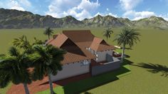 Earp Construction develops and sells properties in George on the Garden Route in South Africa. There are a range of design styles and sizes to suit your budget. Design Your Dream House, Plan Design, Open Plan, Property For Sale, South Africa, Bali, Construction, Building, Open Floor Plans