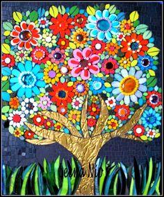 Golden Tree by Leena Nio