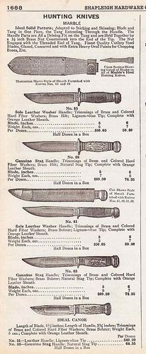 Marble Hunting Knives Shapleigh Hardware