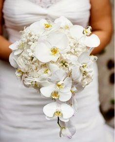 Buquê de Orquídeas #casamentos #festas #noivas #buquês #orquídeas