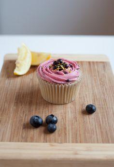 New and tasty Lemon with Norwegian Blueberry  Buttercream.