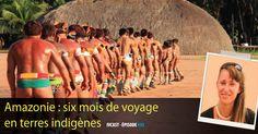 Anaïs Bajeux a passé six mois en Amazonie à la rencontre des tribus indigènes. Elle en a ramené un documentaire. Retour sur ce voyage intense au Brésil. Wrestling, Sports, Documentary, Wayfarer, Dating, Earth, Lucha Libre, Hs Sports, Sport