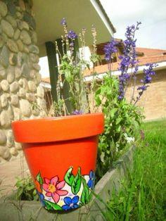 Macetas pintadas a mano - Macetas - Casa - 395377