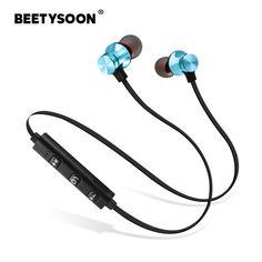 32de14780ed BEETYSOON Sports fone de ouvido Bluetooth Earphone Wireless Earphones  Audifonos Bluetooth Headphone Auricular Bluetooth Headset-