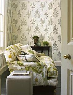 sanderson woodland ferns wallpaper