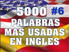 VOCABULARIO #6 - ENGLISH SPANISH - PRONUNCIACIÓN, INGLÉS AMERICANO,
