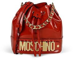 Moschino Small Leather Bag