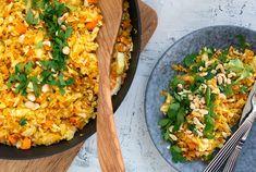 Valdemarsro - Livsstil og madblog med skønne nemme opskrifter Meatless Monday, Fried Rice, Fries, Avocado, Curry, Food And Drink, Snacks, Vegan, Baking