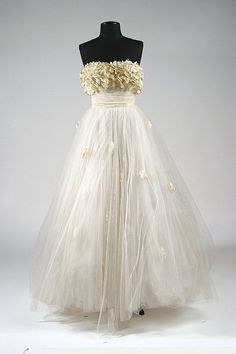 Made for Elizabeth Taylor in 1951 - Design by Edith Head  for  'A Place in the Sun'